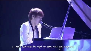 Kim Sung Kyu (Infinite) - Only Tears (live, angol felirattal)   ♫