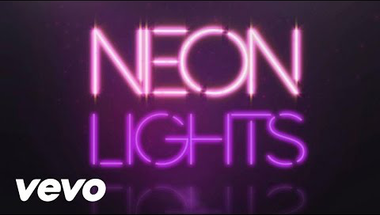 Demi Lovato - Neon Lights (lyric)