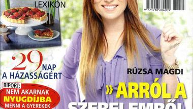 Rúzsa Magdi a 2013.08.29-ei Meglepetés címlapján
