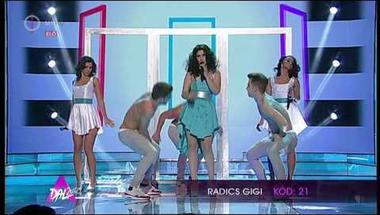 Radics Gigi - Catch me (A Dal 2014 első középdöntő)