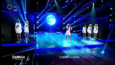 Cserpes Laura - Úgy szálj (A Dal 2014 első elődöntő)