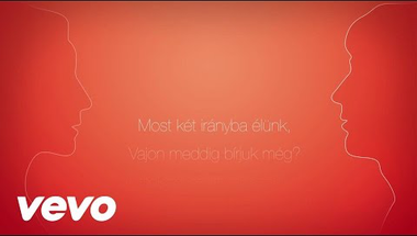 Polyák Lilla feat. Rácz Gergő - Egyetlen szó (Official Lyric Video)