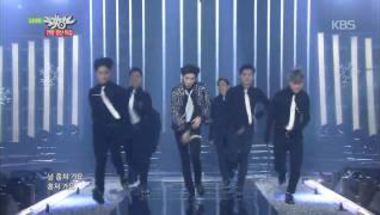 Taemin - Intro + Danger (Music Bank Christmas Special)