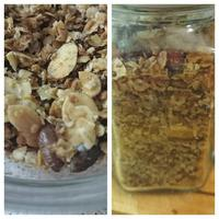 Kókuszos-mandulás granola
