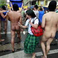 Pucéran tüntettek a Fülöp-szigeteken az egyetemisták
