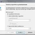OpenOffice Base: Adatbázis létrehozása