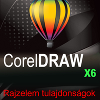 CorelDRAW X6 magyar változat - Rajzelem-tulajdonságok módosítása e-book