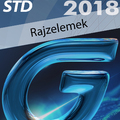 Ajánljuk: #GstarCAD 2018 Std - Rajzelemek (angol változat) e-book