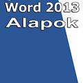 Word 2013 - Alapok (magyar változat) e-book