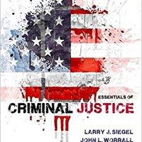 Essentials Of Criminal Justice Mobi Download Book