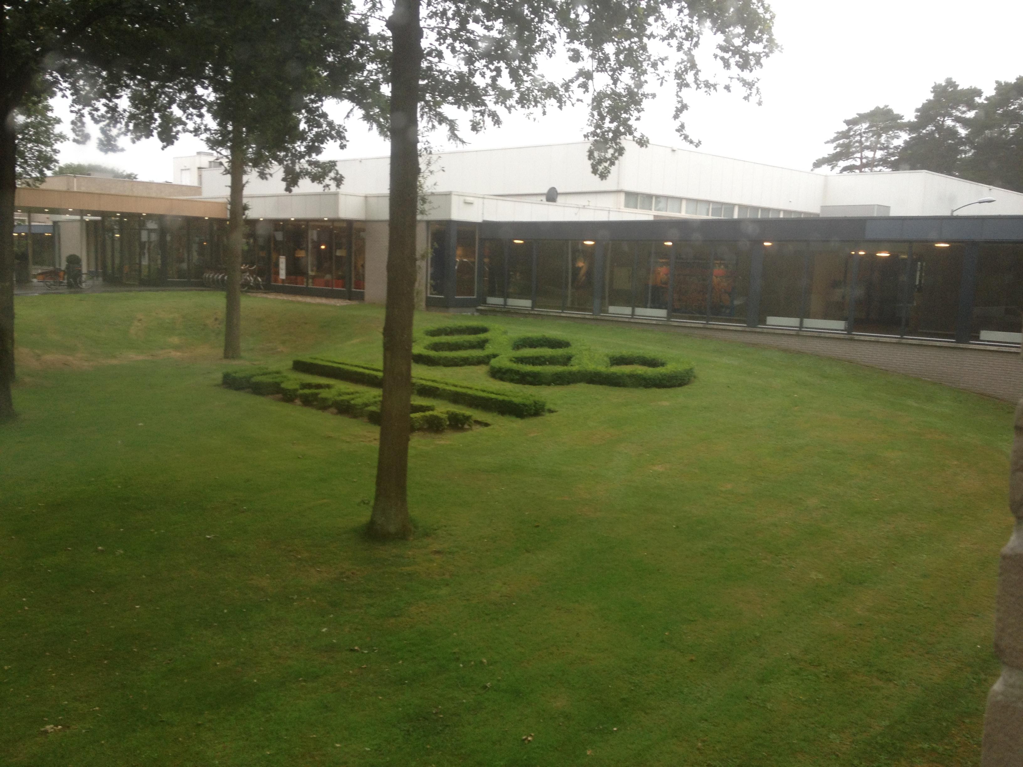 Az olimpiai Pappendal Hotel, itt laktunk a táborozókkal együtt