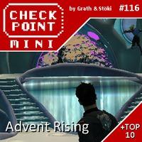 Checkpoint Mini #116: Advent Rising (+ a 10 legnagyobb cliffhanger videojátékban)