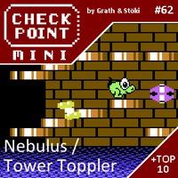 Checkpoint Mini #62: Nebulus (+ a 10 legjobb C64-játék)