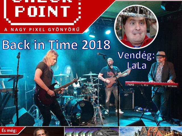 Checkpoint 4x25: Back in Time 2018 és egyéb C64-zenék