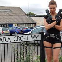Utcát neveztek el Lara Croftról