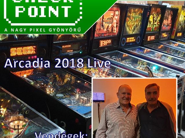 Checkpoint 4x27: Arcadia 2018 Live - Kiss Donát és Ian Livingstone