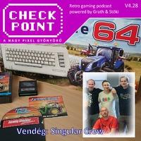 Checkpoint 4x28: Farming Simulator C64-re, magyaroktól