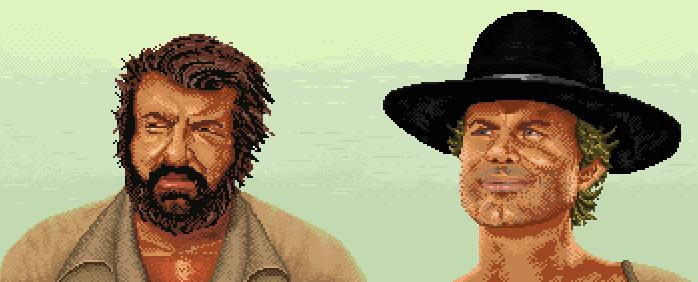 Bud Spencer és Terence Hill videojátékban  Jöhet! - IDDQD d970ab1a40