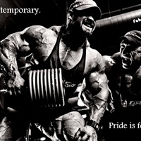 Pain is temporary.Pride is forever.