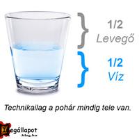 A pohár... félig...?