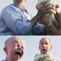 Bush és a baba :D