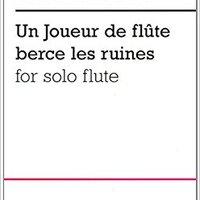 }INSTALL} POULENC UN JOUEUR FLUTE BRECE RUINES              FLUTE. puede little completa growth nedavno