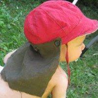 Légiós sapka baseball sapkából - napvédelem sk
