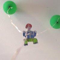 Játék: léggömb emberkével sk
