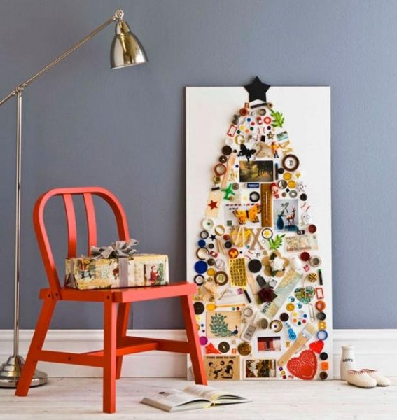 alternative-christmas-trees-handmade-decorations-recycled-crafts-33