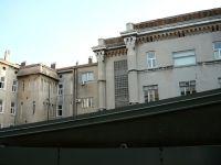 A fiumei Császári és Királyi Haditengerészeti Akadémia hátoldala