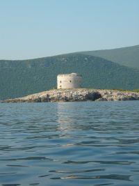 Arza torony a tenger felől