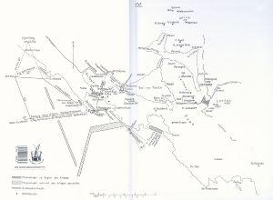 Cattarói-öböl térképe