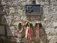 Punta d'Ostro erőd otrantói csata emléktábla