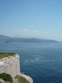 Punta d'Ostro erőd kilátás kelet felé