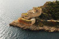 Punta d'Ostro erőd légifelvétel