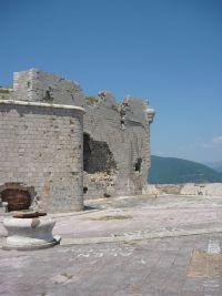 Punta d'Ostro erőd II. világháborús sérülések