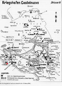 Punta d'Ostro erőd térkép