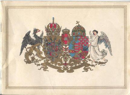 Címlap az Osztrák-Magyar Monarchia címerével