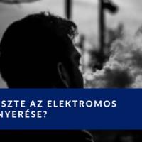 Az elektromos cigaretta a hagyományos cigi veszte?