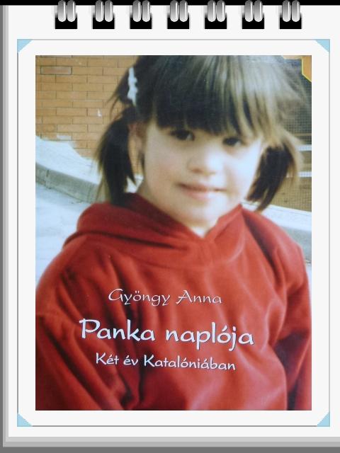 Panka Naplója borítója