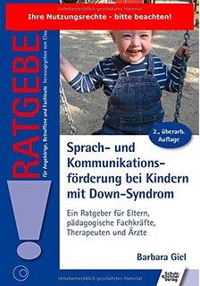 Az egyik legnagyobb kihívás a DS gyermekeknél a beszédfejlesztés, ez a kis 'Tanácsadó' füzet a 2. újradolgozott kiadása praktikus módszerekről ír, fotókkal és tippekkel, szerzője Barbara Giel. Kiadva: 2015, német nyelven