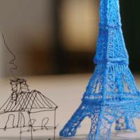 Ilyet még biztosan nem láttál: a levegőben rajzolhatunk tárgyakat egy különleges 3D tollal