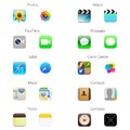 Ikon parádé: iOS 6 vs. iOS 7