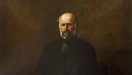Lajos Jámbor (1884–1951): Portrait of Ignaz Semmelweis from Centre of Royal Medical Society of Budapest