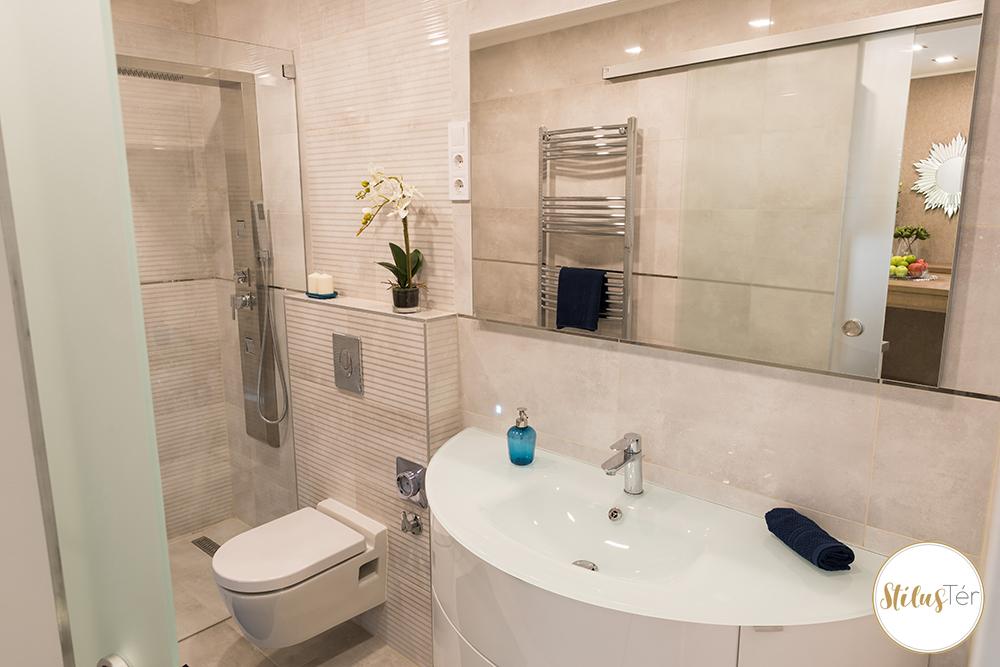 Fürdőszoba - home staging - ingatlan styling
