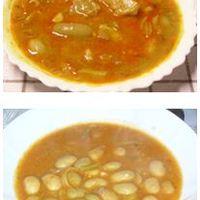 Fejtett menyecskebab leves zöldbabbal Rózsika szerint