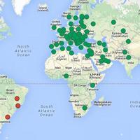 Itt vannak a külképviseleti szavazás helyszínei Google térképen