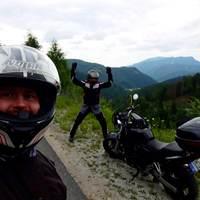Motorozás Alsó-Ausztria és Stájerország határán