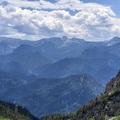 Közeli hegyeken Ausztriában