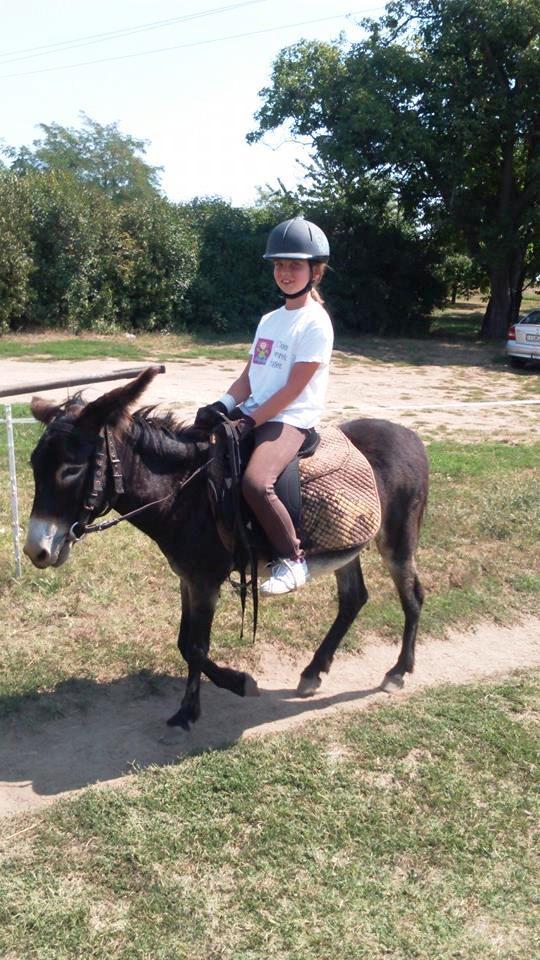 Laura már 2015-ben is csacsigolt, Tiszaörvényen.
